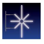 KRYSTAL 16W LED 80x50 studená bílá