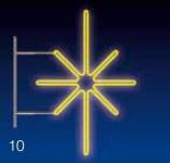 KRYSTAL 16W LED 80x50 žlutý