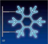 VLOČKA 40W LED 115X105 modrá