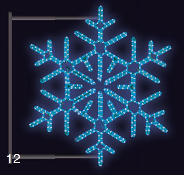 VLOČKA DIAMANT s konzolí 0,95x0,95m modrá