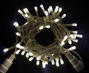 LED řetěz profesionální stále-svítící 40 LED/5m denní bílá  #