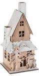 Svítící domeček dřevěný - varianta A