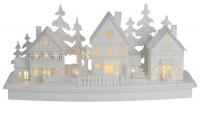 Dřevěná vesnice - varianta C