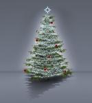 Komplet na Vánoční strom - varianta 1