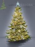 Komplet na Vánoční strom - varianta 6