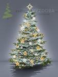 Komplet na Vánoční strom - varianta 7
