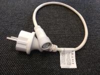 Napájecí kabel pro MAXILEB-LED studený/teplý bez usměrňovače - bílý