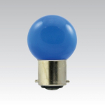 ŽÁROVKY LED bajonet B22 - 1W modrá