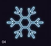 VLOČKA KLASIK  75x75 modrá