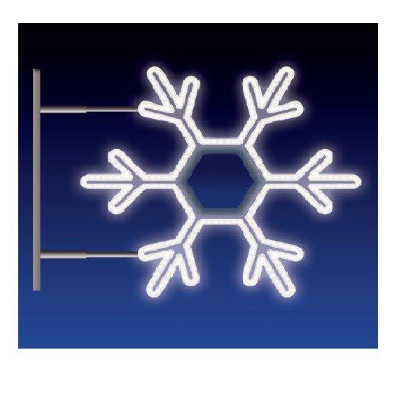 VLOČKA 20W LED 75x65 studená bílá