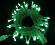 LED řetěz profesionální stále-svítící 40 LED/5m zelená   #
