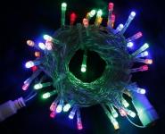 LED řetěz profesionální stále-svítící 40 LED/5m multicolor   #