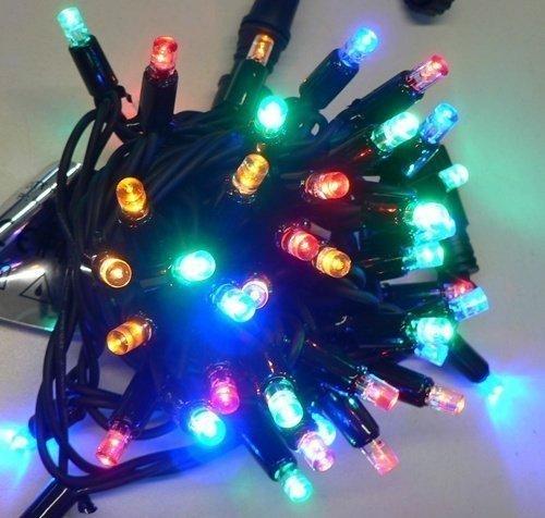 profesionální LED řetěz na vánoční strom HIGH-PROFI 40 LED multicolor 5m
