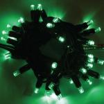 LED řetěz HIGH-PROFI 40 LED/5m prodloužitelný zelený