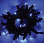 LED řetěz HIGH-PROFI 40 LED/5m prodloužitelný modrý