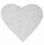 Srdce - závěsná pěnová dekorace #