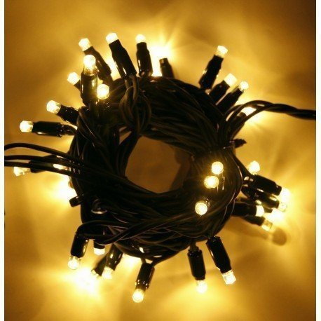 profesionální LED řetěz na vánoční strom HIGH-PROFI 35 LED teplá bílá studená bílá FLASH efekt 5m