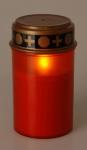 LED svíčka hřbitovní