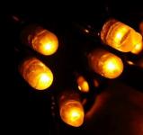 MAXILEB-LED - světelný řetěz 20m/200 LED žlutých