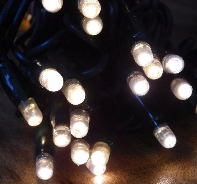 MAXILEB-LED světelný řetěz teplá bílá