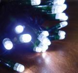 MAXILEB-LED - světelný řetěz 20m/200 LED studená bílá