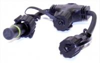 HIGH-PROFI T-konektor 230V černý