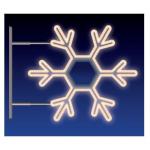 VLOČKA 40W LED 115X105 teplá bílá