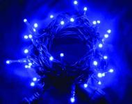 Vánoční LED řetěz stále-svítící 240 LED/18m venkovní/vnitřní, modrá