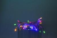 Vánoční LED řetěz na baterie 50 LED/5m multicolor