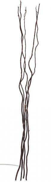 Větvičky vrbové svítící hnědé 110 cm