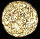 Svítící koule laminátová 40cm