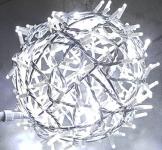 Svítící koule hliníková 28cm