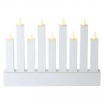 Vánoční svícen bílý