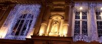 Světelný závěs MAXILEB-LED 2x3m - teplá bílá