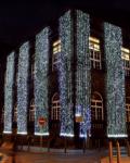 Světelný závěs MAXILEB-LED 2x5m - studená bílá