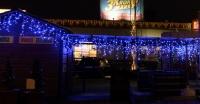 """MAXI-LED """"ICICLE"""" + FLASH efekt -  modrá + studená bílá   4x0,8"""