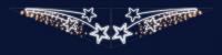 Převěs BRASSÉE D´ÉTOILES 0,8x4m
