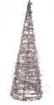 RATANOVÝ KUŽEL svítící 40cm