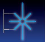 KRYSTAL 16W LED 80x50 modrý